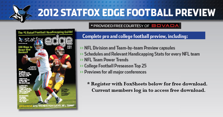 StatFox Edge 2012 Pro & College Football Preview