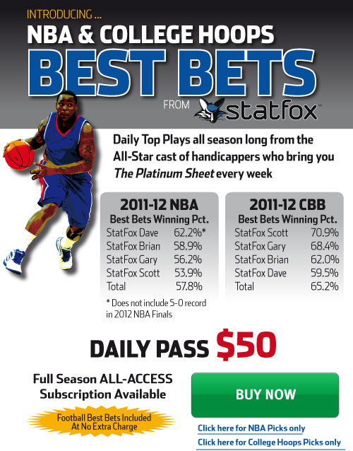 StatFox Basketball Best Bets
